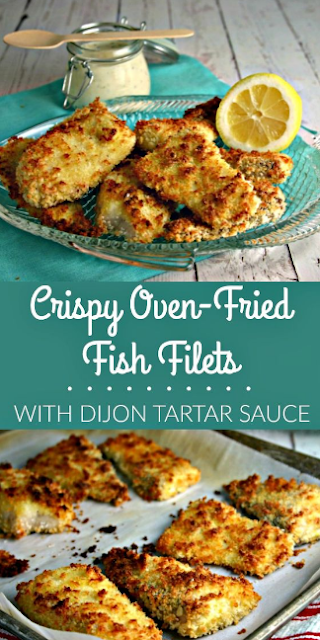 Crispy Oven-Fried Fish Filets