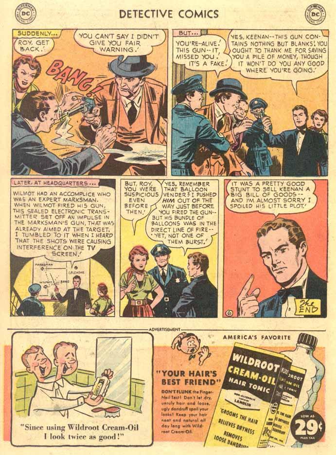 Read online Detective Comics (1937) comic -  Issue #191 - 22