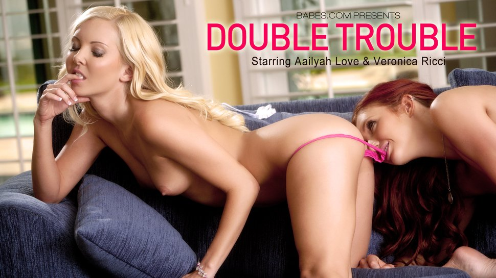 Babes3-27 Veronica Ricci & Aaliyah Love - Double Trouble 06140