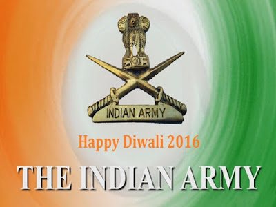 Happy Diwali Indian Army Wishes