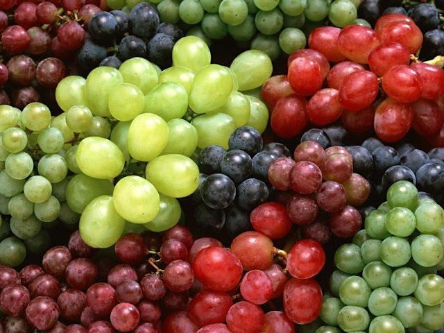 Kelebihan Buah Anggur yang mempunyai kalori rendah