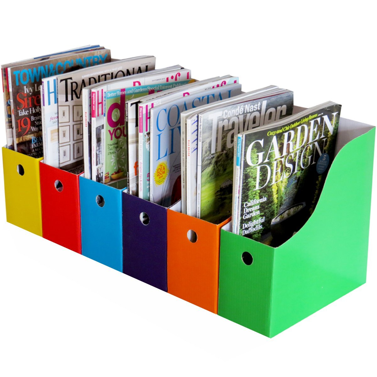 7 must have organizing tools overstuffed for How to make a magazine holder from cardboard