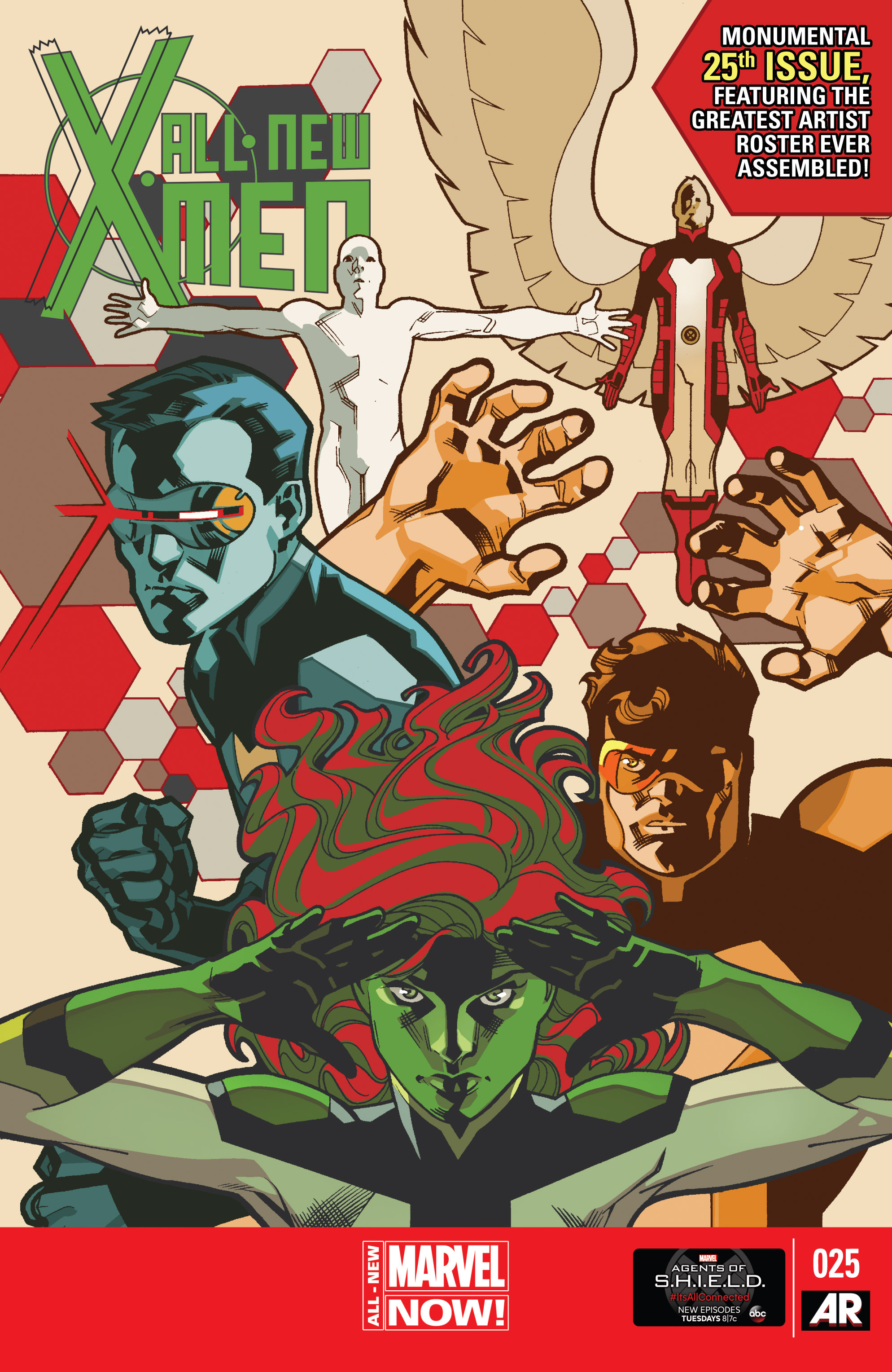 Read online All-New X-Men (2013) comic -  Issue #25 - 1
