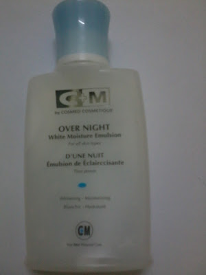 C+M OVERNIGHT WHITENING EMULSION