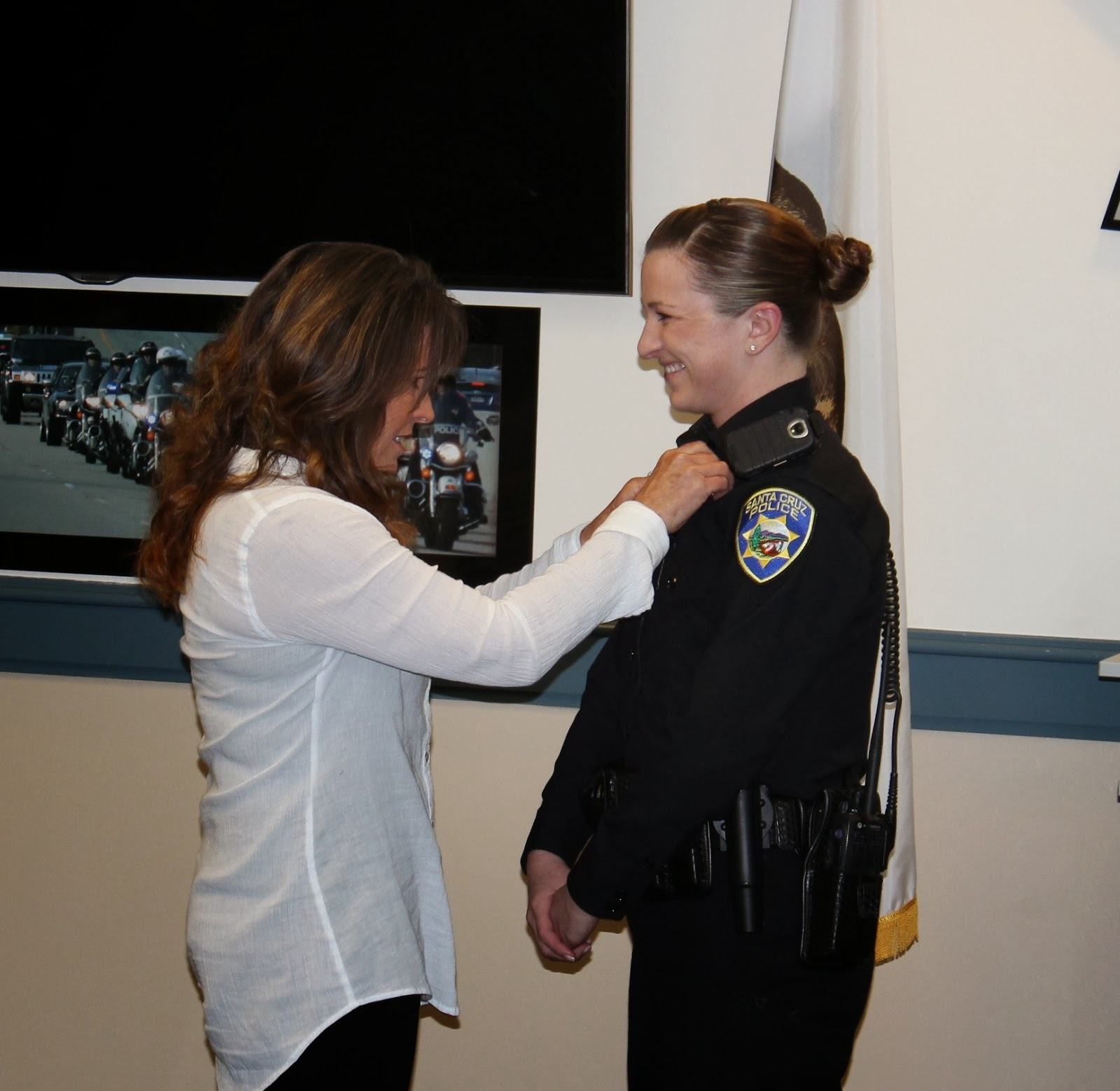 Santa Cruz Police: Welcome To Our Newest Police Officer