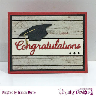 Divinity Designs Stamp Set: The Future, Custom Dies: Grad, Double Stitched Rectangles, Ovals, Double Stitched Ovals, Paper Collection: Weathered Wood
