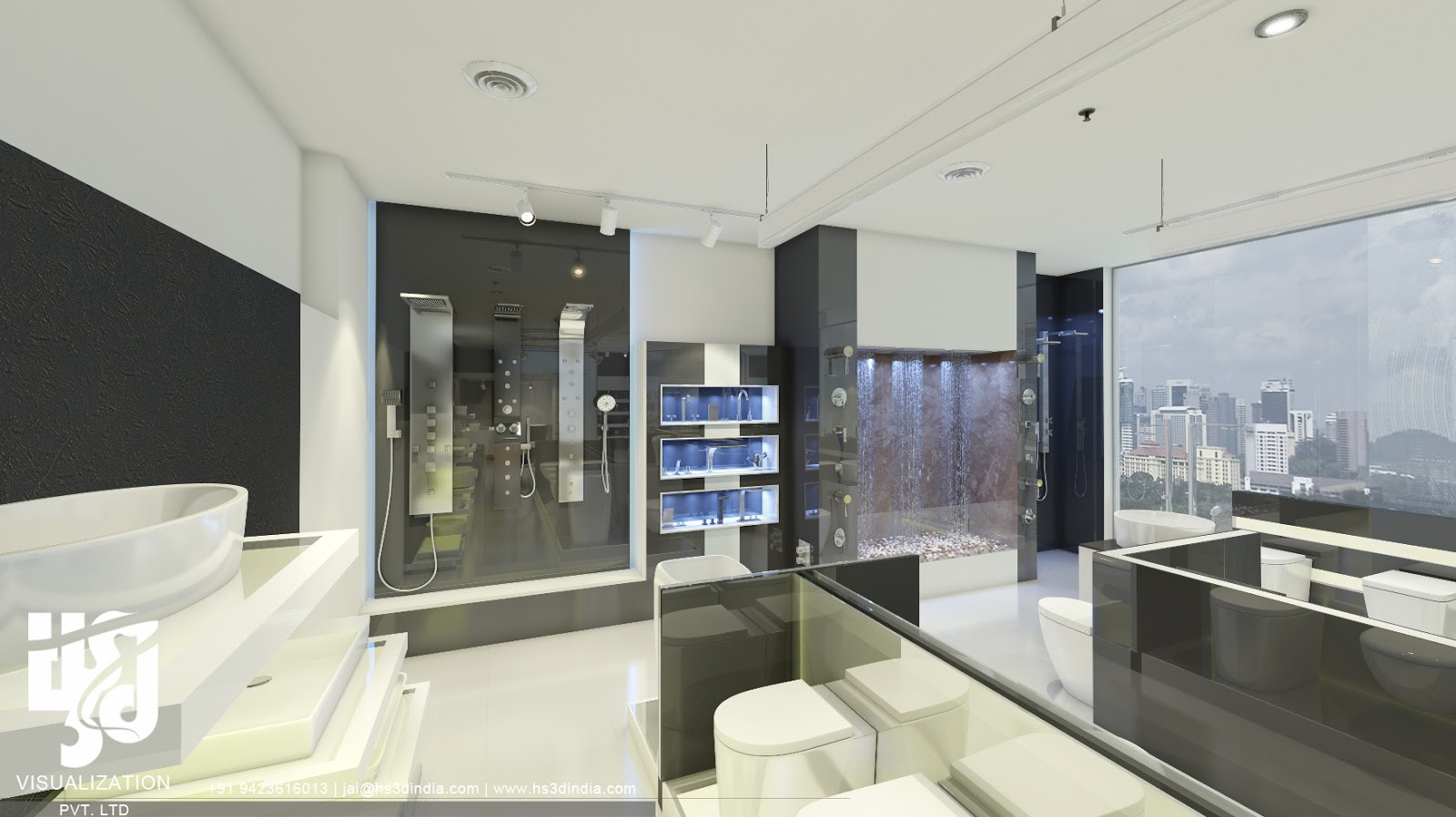3d Architectural Visualization 3d Commercial Interior