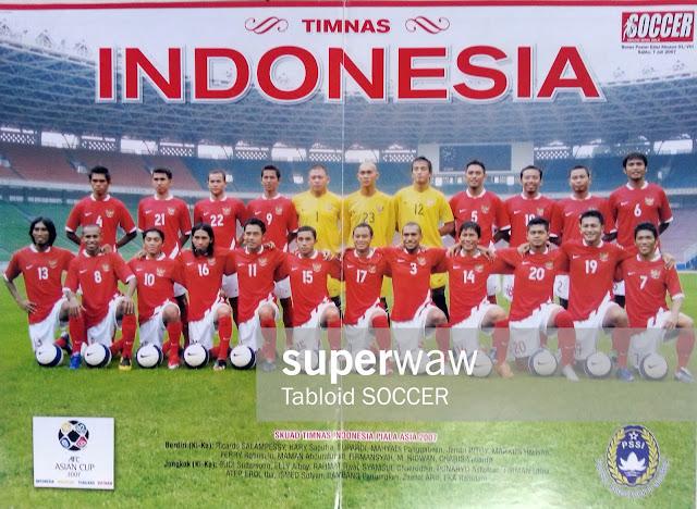 Skuad Timnas Indonesia Piala Asia 2007