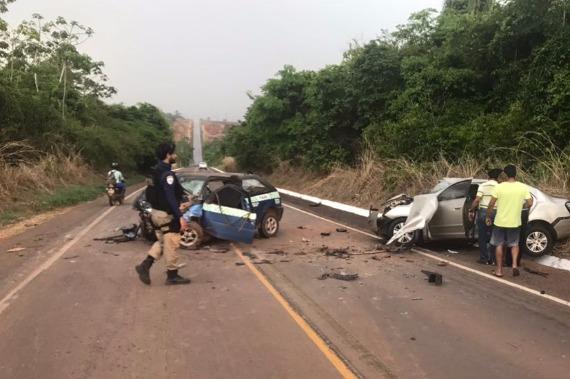 ACIDENTE DEIXA DUAS PESSOAS MORTAS NA RODOVIA BR-222 - VEJA...