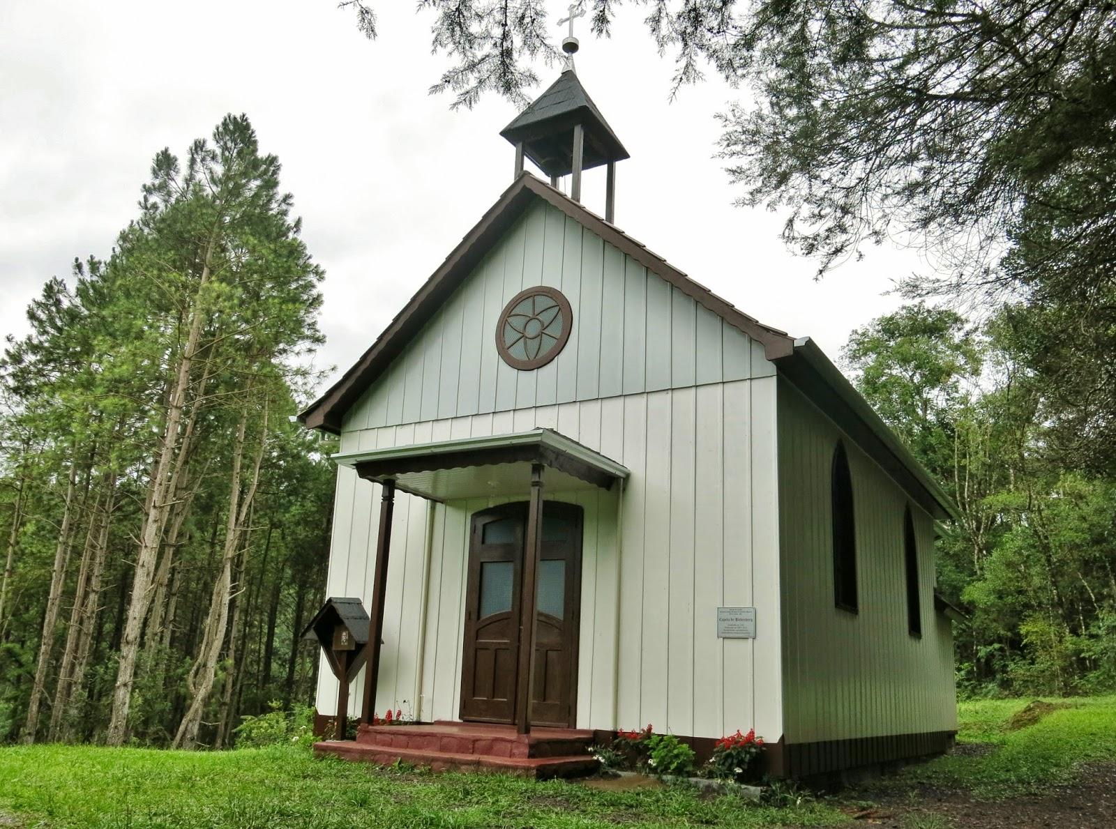 Capela de Babemberg, na zona rural de Treze Tílias