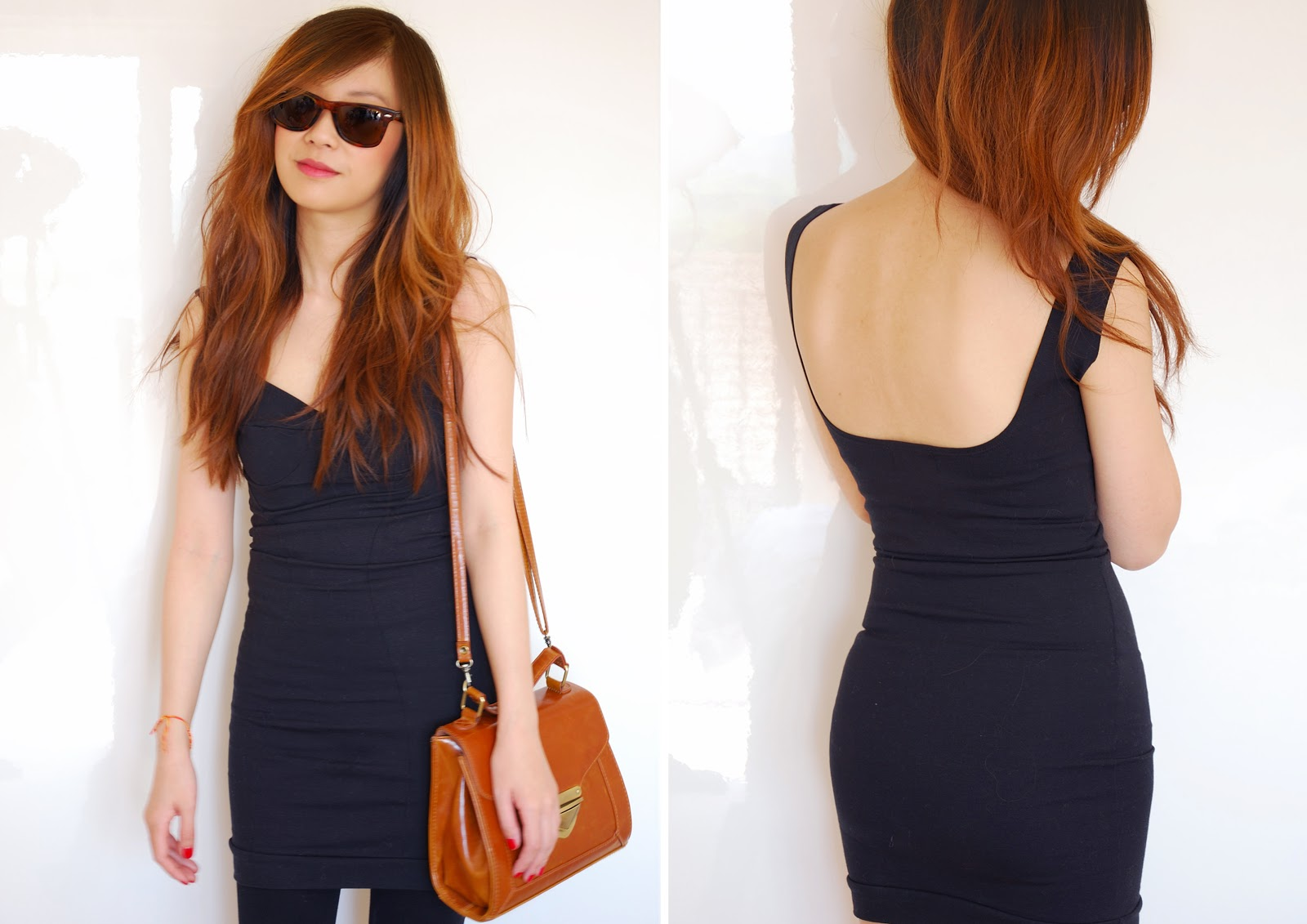 LBD, little black dress, how to style a little black dress for daytime