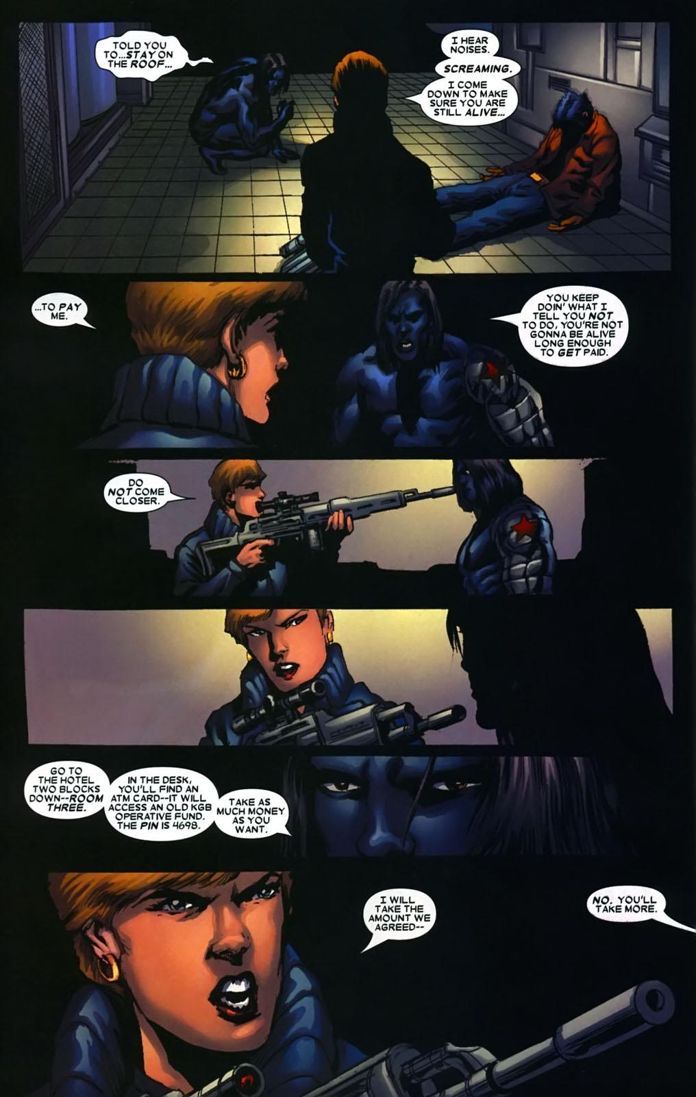 Read online Wolverine (2003) comic -  Issue #39 - 21