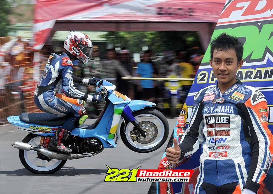 M Rizal & Feros Kuncir, Adik Juara di Motoprix Kakak Menggila di Kejurda