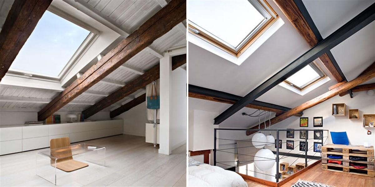 Velux finestre per tetto a falde o piano edilizia in un click - Finestre a tetto ...