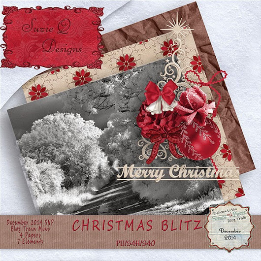 Scraps N Pieces December 2014 Blog Train