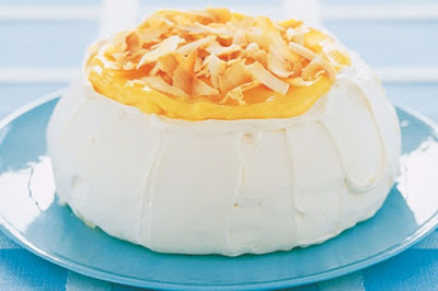 Lemon curd pavlova desserts recipes