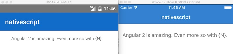 AngularJS: Code Reuse in Angular 2 Native Mobile Apps with