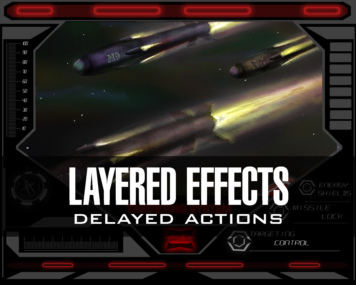 Dog Fight: Starship Edition layered effects