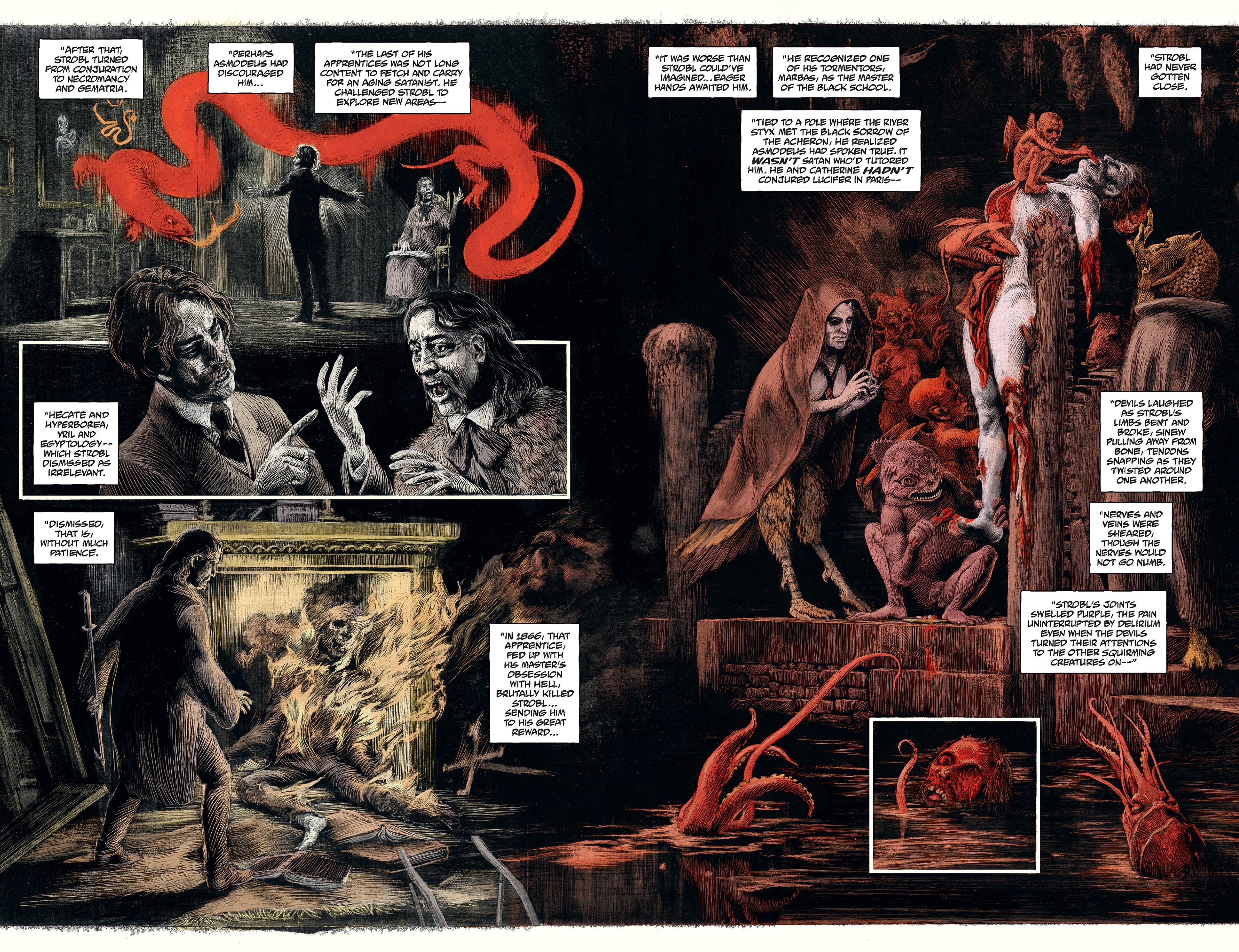 Read online Abe Sapien comic -  Issue #30 - 16