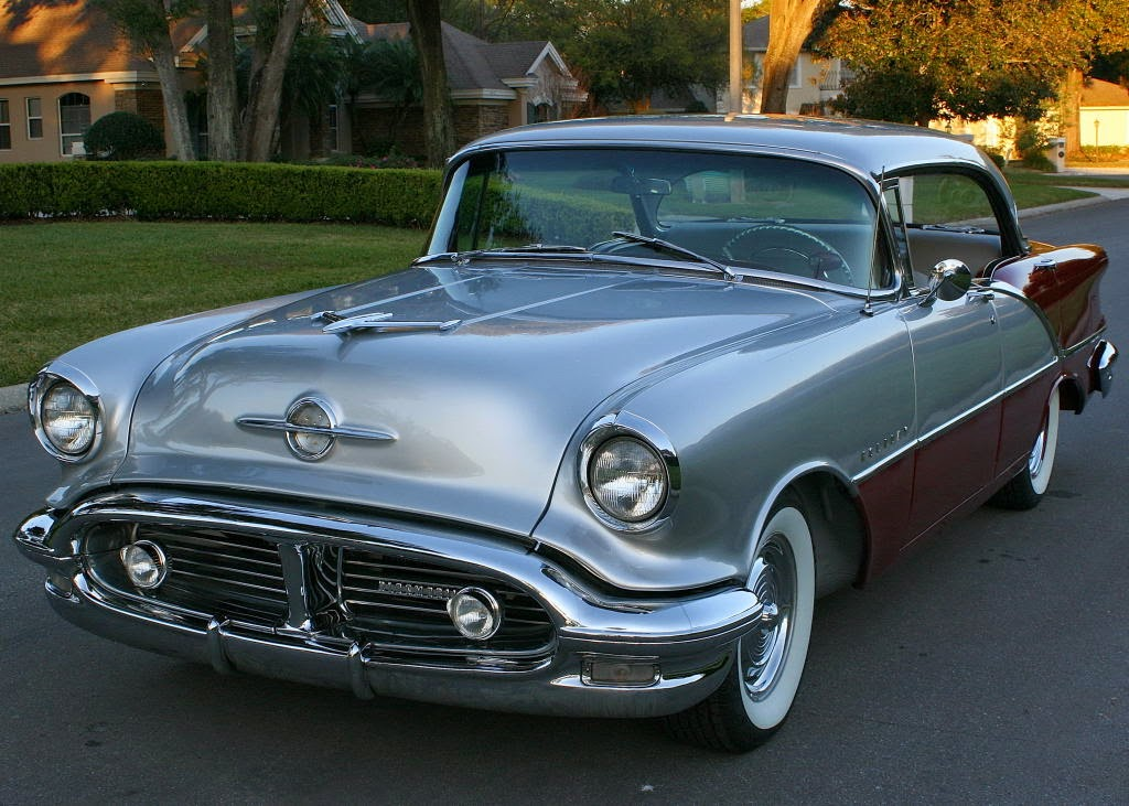 All American Classic Cars: 1956 Oldsmobile Super 88 4-Door
