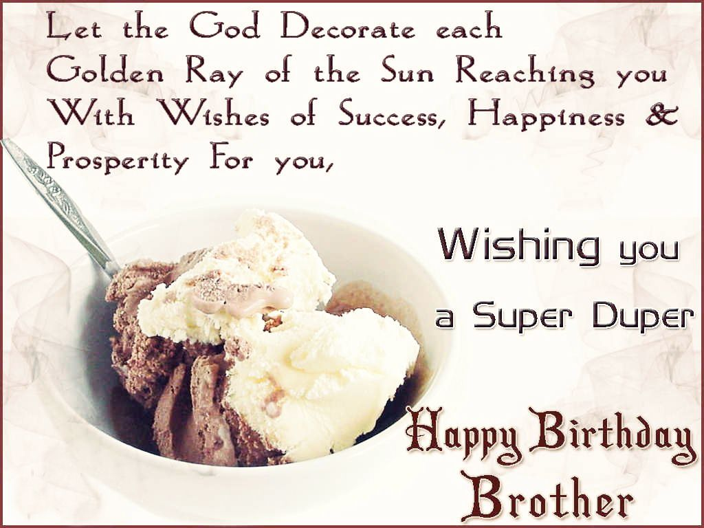 Happy Birthday Message For Brother ~ Happy birthday wishes message for a best brother really good life quotes