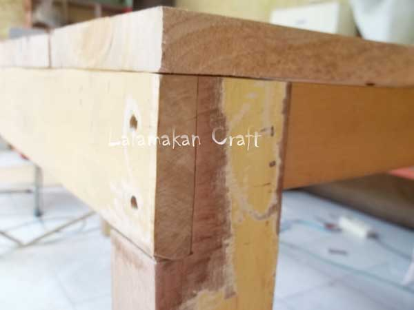 Buat Dapur Minimalis Creativity Tutorial: Make Dining Table (membuat Meja Makan)