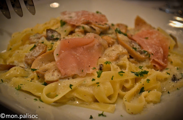 Truffle Oil Pasta from Casa Nostra