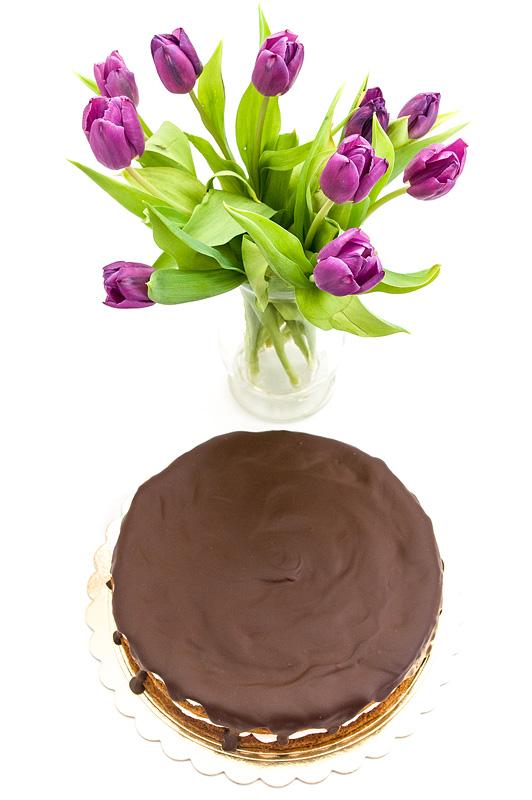 Carrot chocolate cake no gluten - korenčkova torta od zgoraj