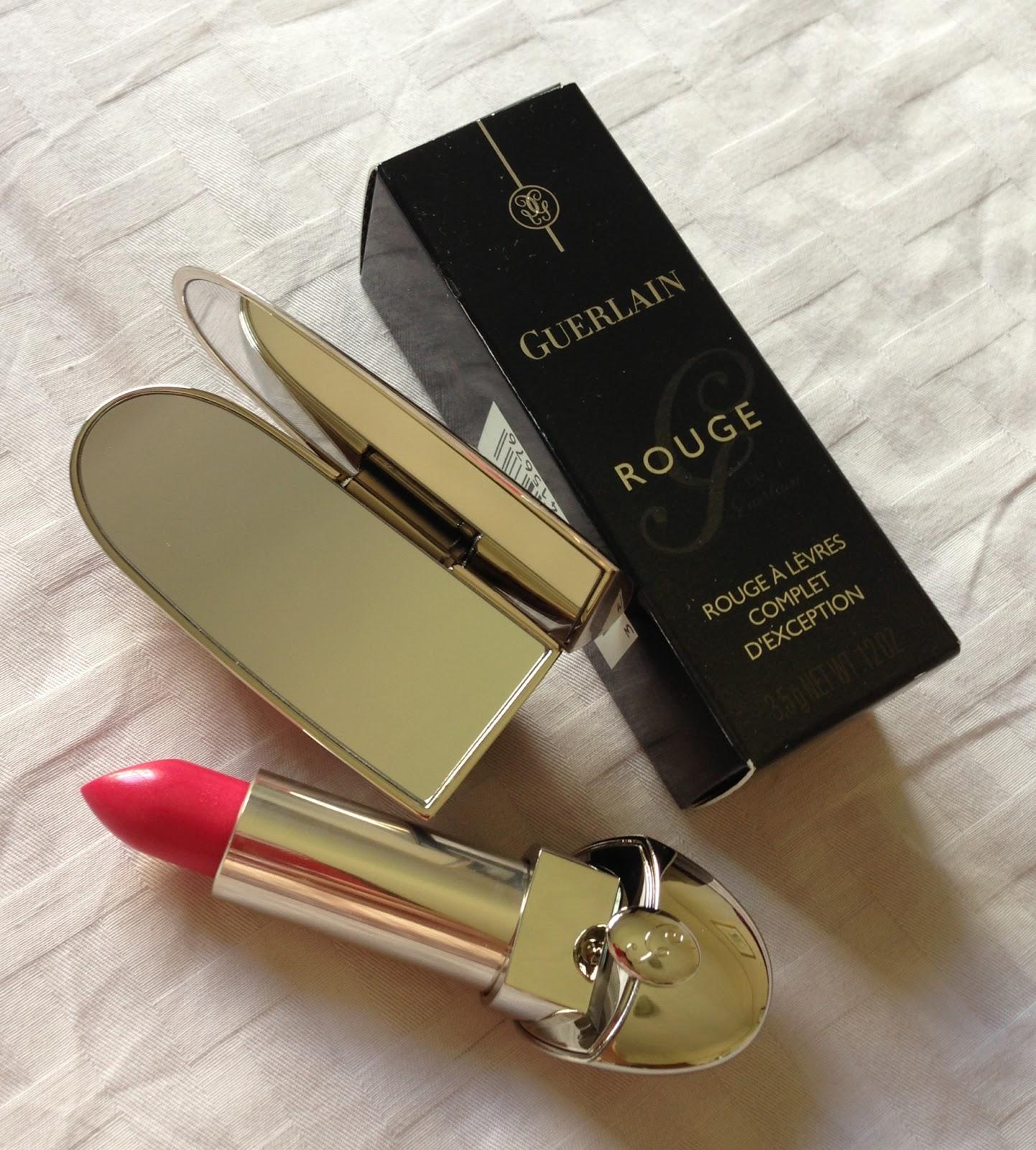Miaka's Life and Loves: Guerlain Rouge G lipstick in 862 ...
