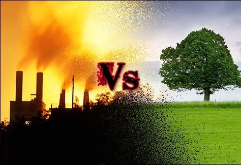 Economic growth vs. environmental protection