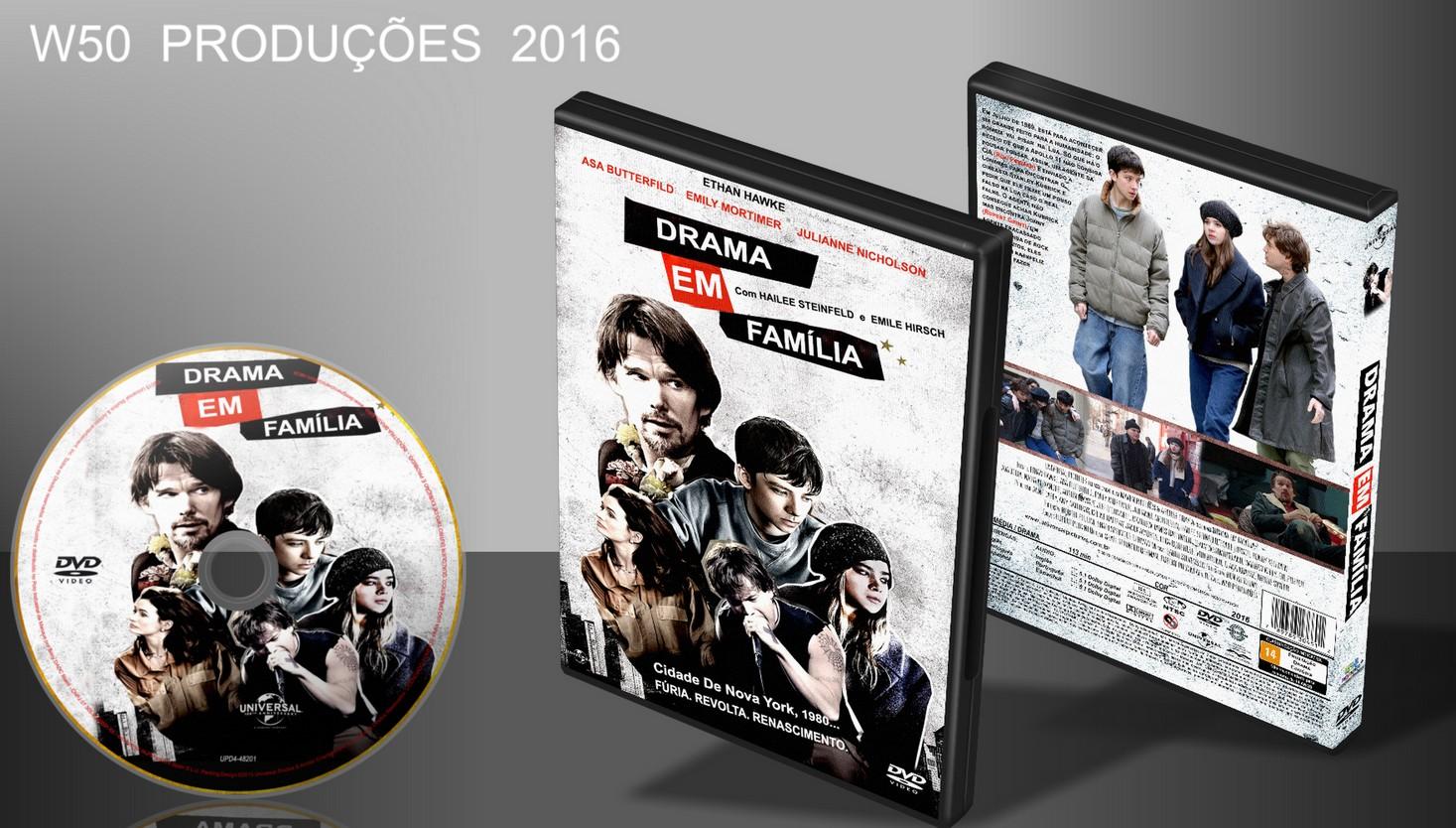 w50 produ es cds dvds blu ray drama em fam lia lan amento 2016. Black Bedroom Furniture Sets. Home Design Ideas