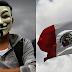 Célula De Anonymous Izó Al Revés La Bandera Nacional En Aguascalientes, (NO FUE ERROR MILITAR)