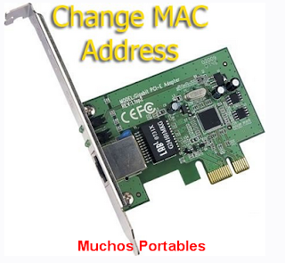 Change MAC Address Portable