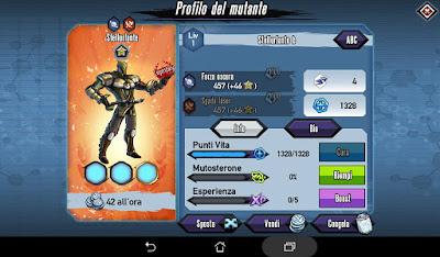 Mutants: Genetic Gladiators Breeding video N°362 (Starscream - Alien)