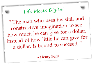 quote by henry ford on giving something for a dollar