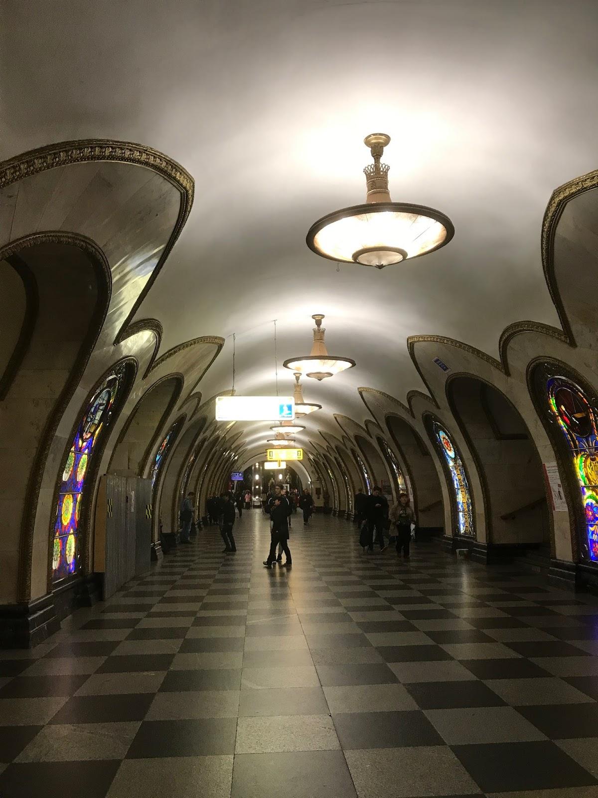 Novoslobodskaya - Moscou