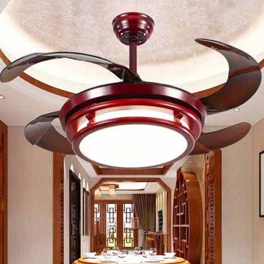 Chiêm ngưỡng bộ sưu tập quạt trần đèn phòng khách mới nhất hiện nay