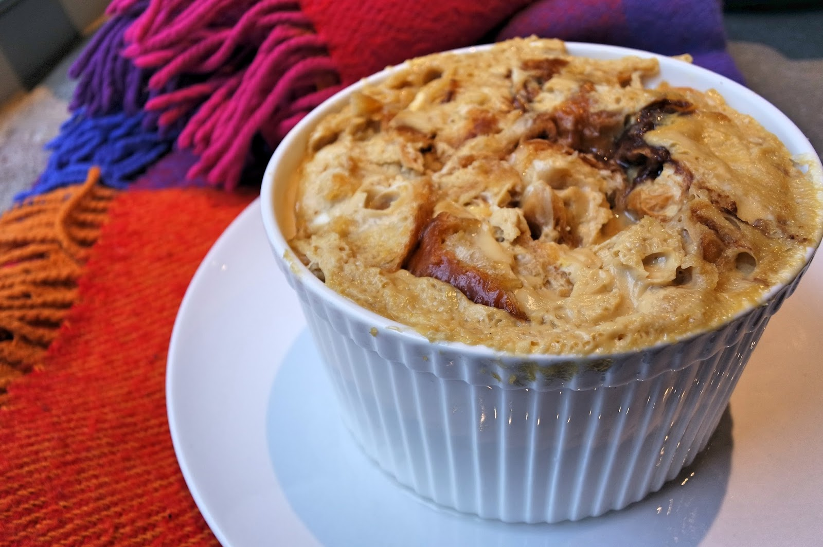 authentic steam baked bread pudding