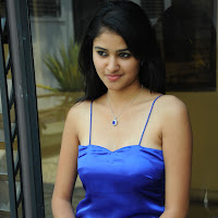 Fair legs simran in blue short dress dazzling photos gallery