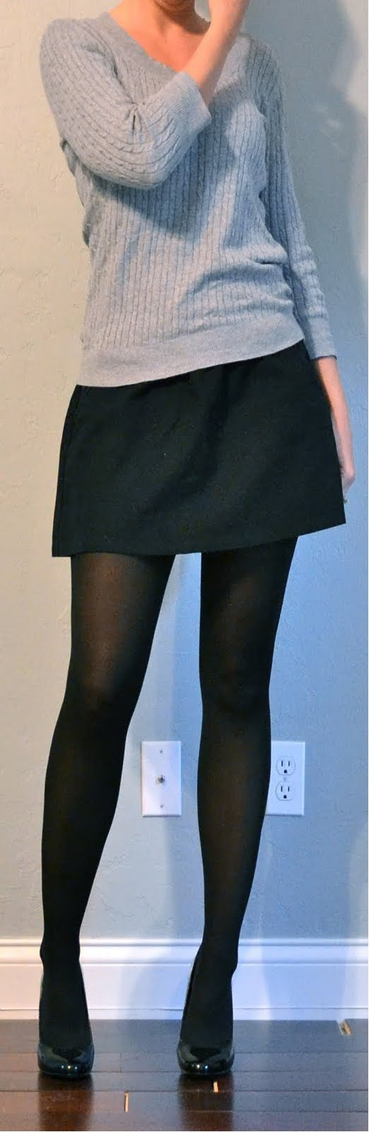 Black Skirt Tights 120