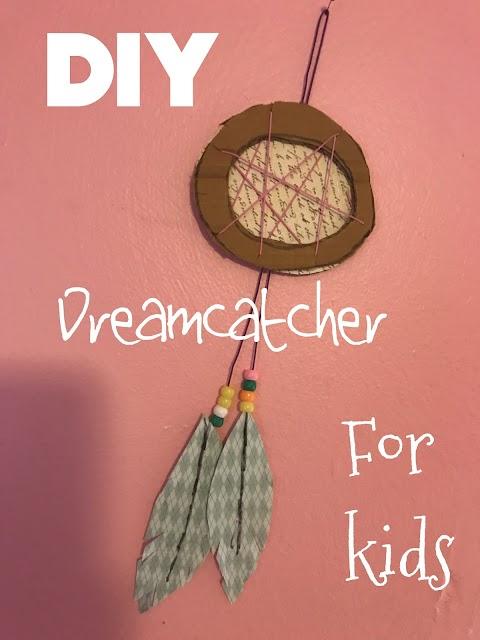DIY Dreamcatcher for Kids!