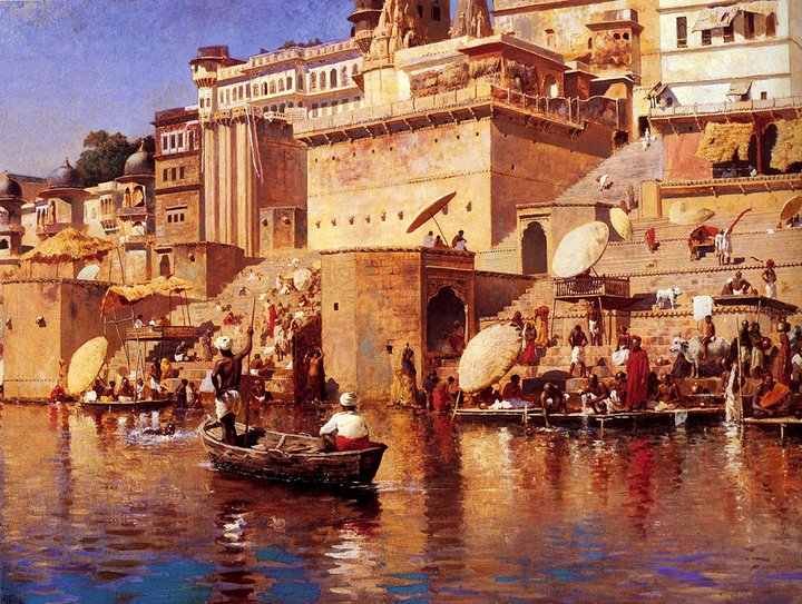 Edwin Lord Weeks 1849-1903 | American Academic painter | Oriental scenes