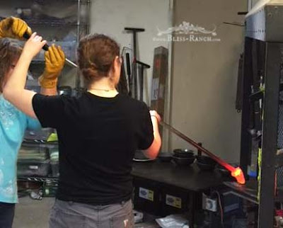 Glass Blowing Pumpkin Bliss-Ranch.com