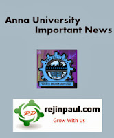 Anna University UG PG April May 2015 Exam Time Table Changes/Additions