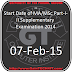 Start Date of MA/MSc Part-I-II Supplementary Examination 2014