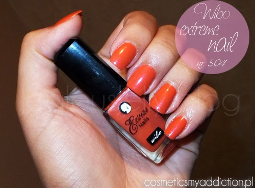 Wibo, extreme nails nr 504