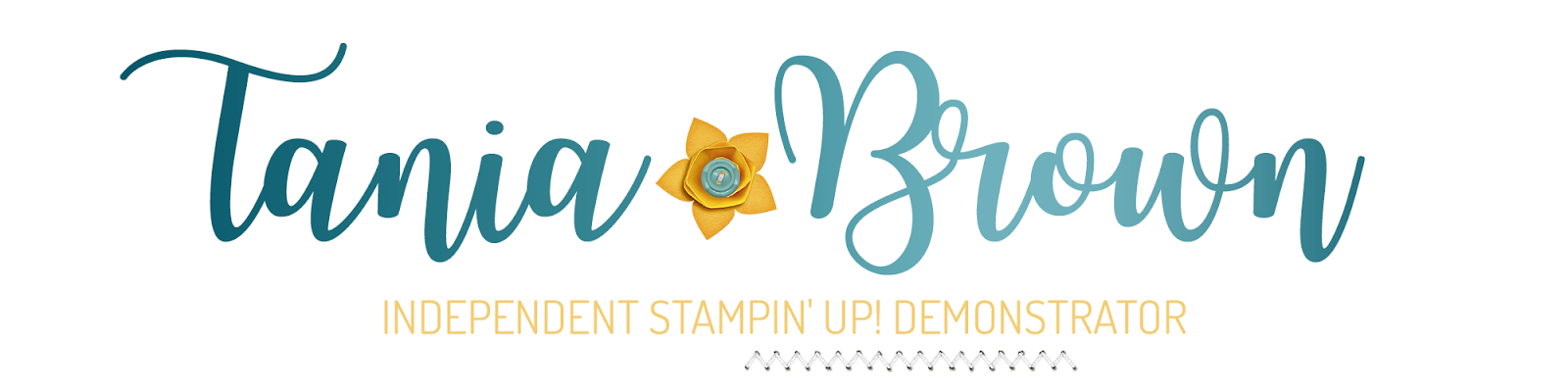 Tania Brown - Independent Stampin' Up! Demonstrator