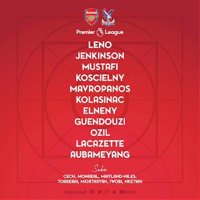 arsenal-vs-crystal-palace-lineup-confirmed