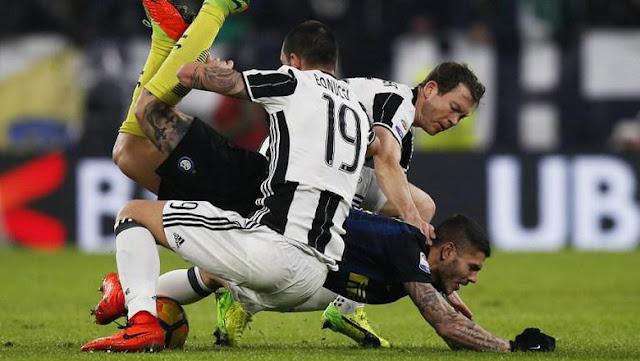 Diserang Juventus, Inter Membela Diri
