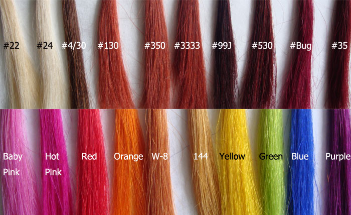 Hair Extensions Types Select The Appropriate Color And